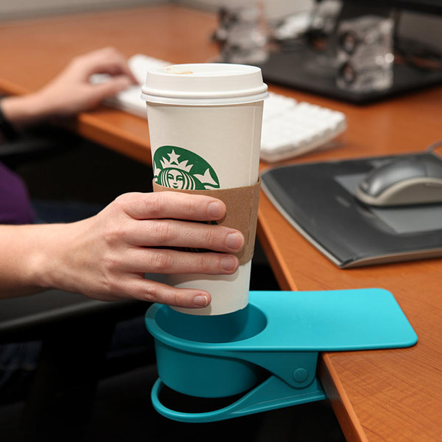 Clip-on Coffee Holder
