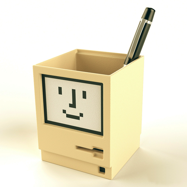 Apple Macintosh Pen Holder