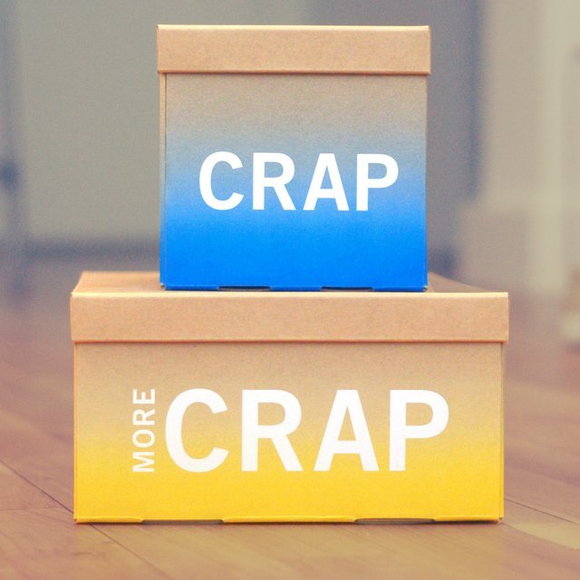 Crap Storage Boxes