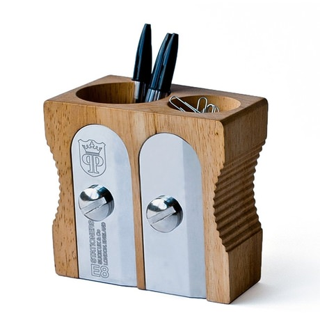 Pencil Sharpener Pen Holder